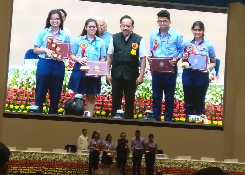 SNS Gurugram receiving CIASC Awards