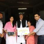 Tab-Lab in Kailash Satyarthi Ji's Bal Ashram in Virat Nagar, near Jaipur