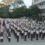 Love portrayal to lovely cha-cha , Nagarjuna Model school