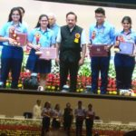 SNS Gurugram receiving CIASC Awards