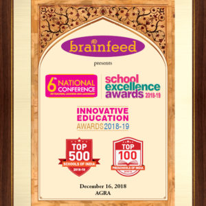 Award Cover Page