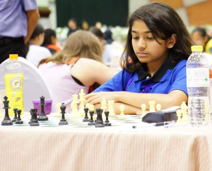 Greenwood High Student shines at All India National U15 Chess Championship..