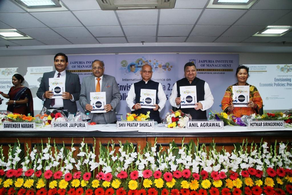 Jaipuria Institute of Management, Indirapuram, Ghaziabad hosted One Day International Conference on Envisioning India 2.0