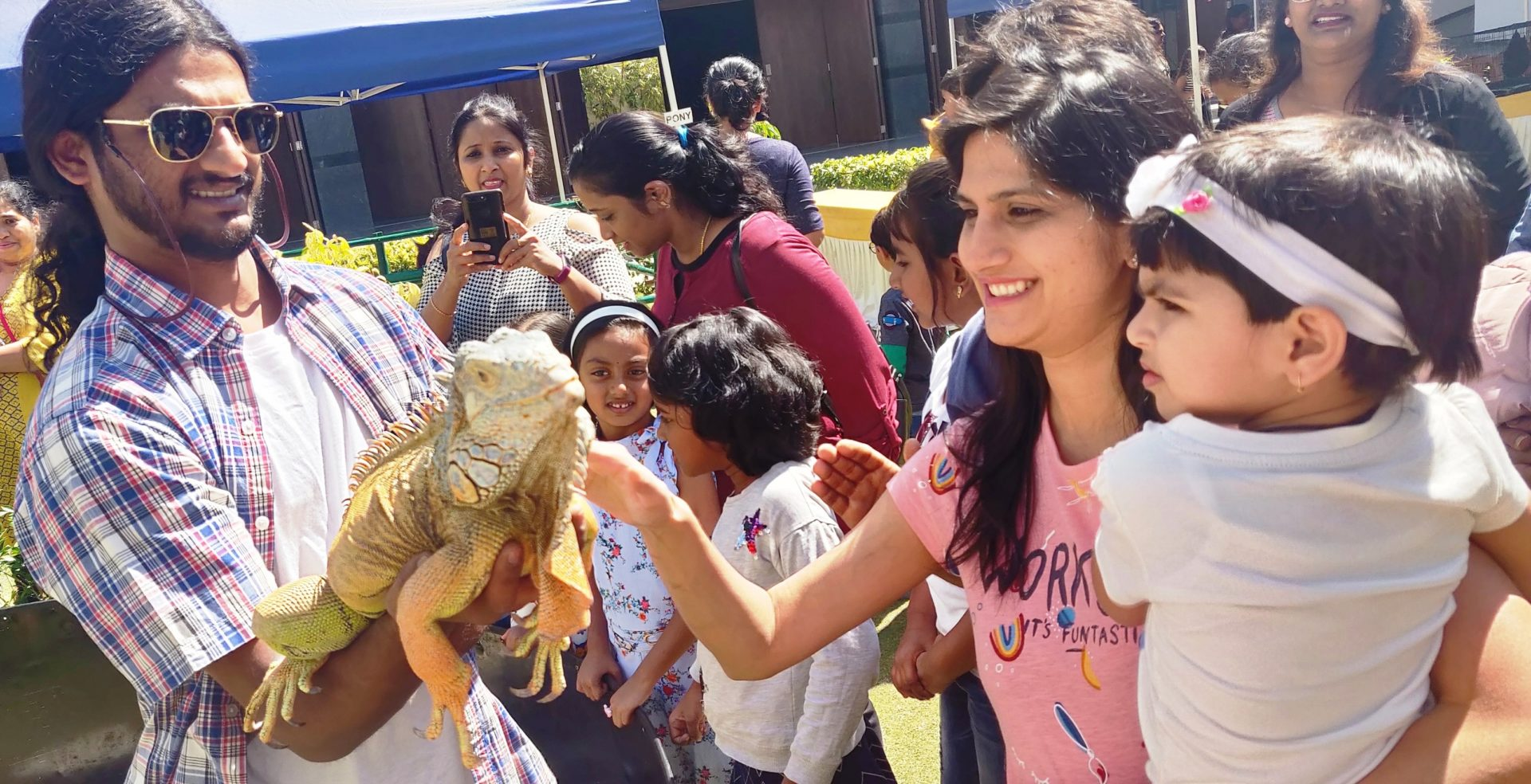 Greenwood High- Bannerghatta inspires children to be nature friendly, binds them up with animals