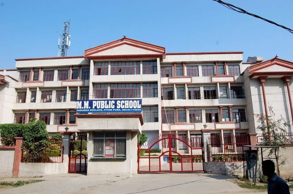 M M PUBLIC SCHOOL VASUDHA ENCLAVE Delhi-110034