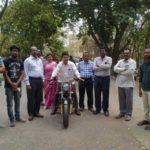 JNTU-Hyderabad students and faculty build e-bike