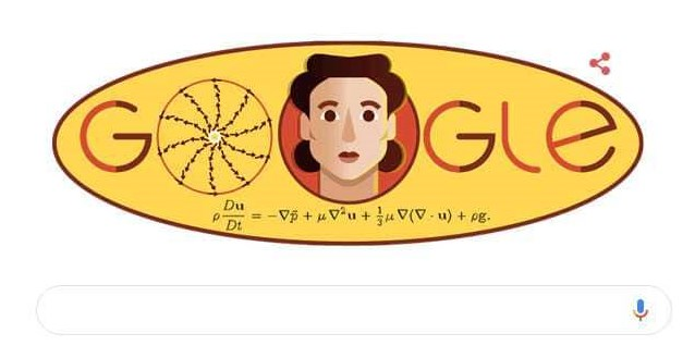Google dedicates doodle to Russian Mathematician Olga Ladyzhenskaya