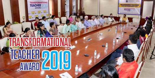 Transformational Teachers Award Ceremony - 2019
