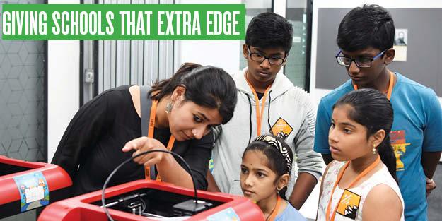 Giving schools that extra edge