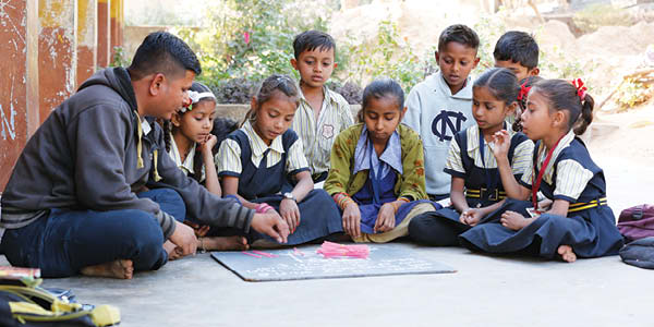 Quality Education to every child is a must