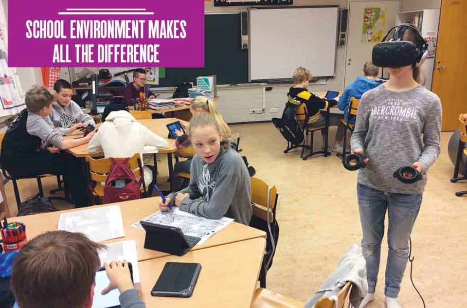 School environment makes all the difference