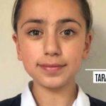 Iranian school girl