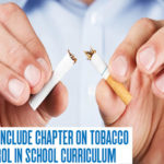 Call to include chapter on tobacco control in school curriculum