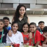 Chef Pallavi Nigam Sahay at Thakur International School Cambridge for Bastille Da
