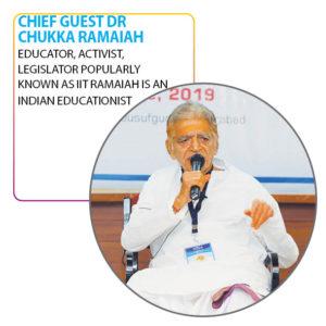 Chief Guest Dr Chukka Ramaiah