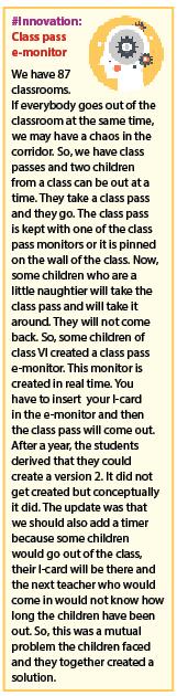 Class pass e-monitor