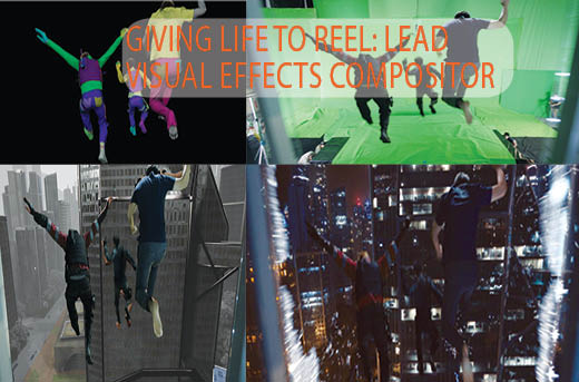Giving life to Reel Lead Visual Effects Compositor