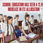 School Education has seen a 12.8% Increase in its Allocation1
