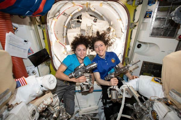 Historic or Hertoric: Two Women to walk in space today