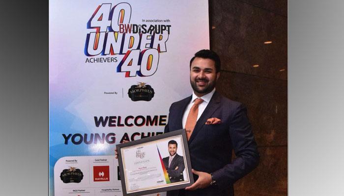 Young Entrepreneur Award to Ryan