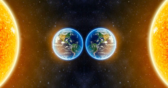 Scientists Stumble upon Distant Mirror Image of the Earth and Sun