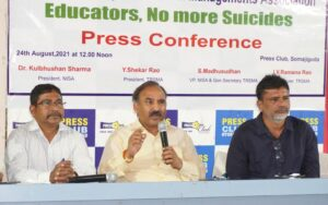 """""""Educators No more suicides"""" TRSMA and NISA gave a call"""